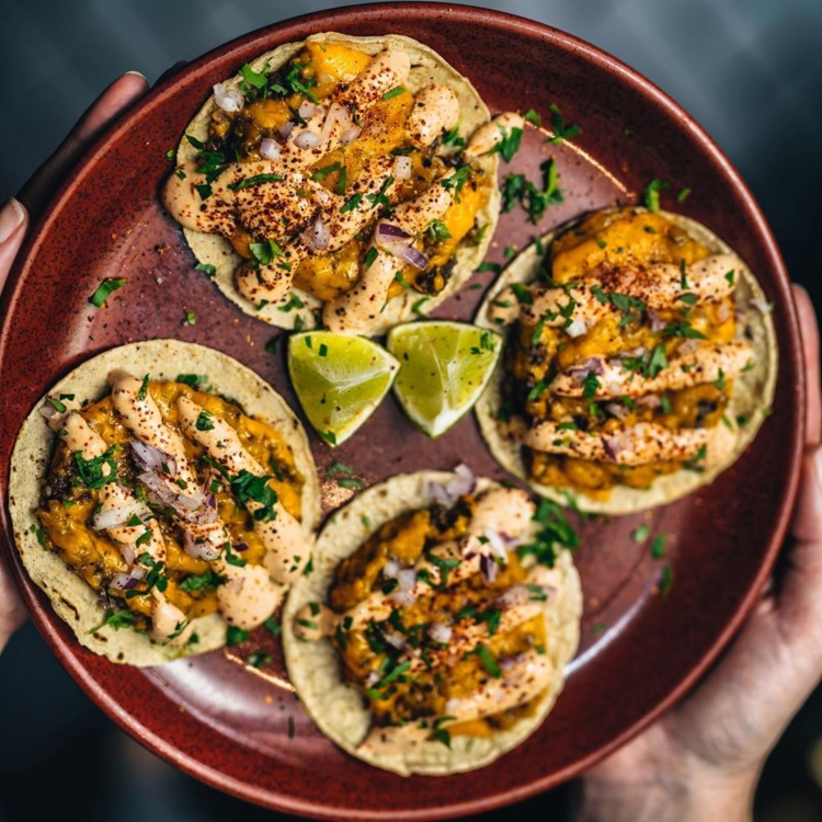 Food and drink at The Yards – tacos from temper