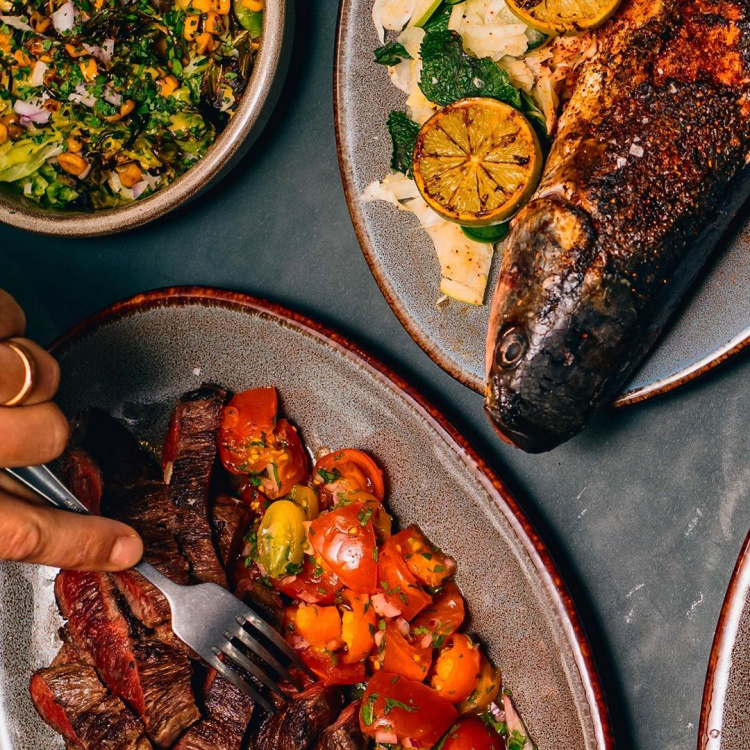 festive feasting at temper with whole fish