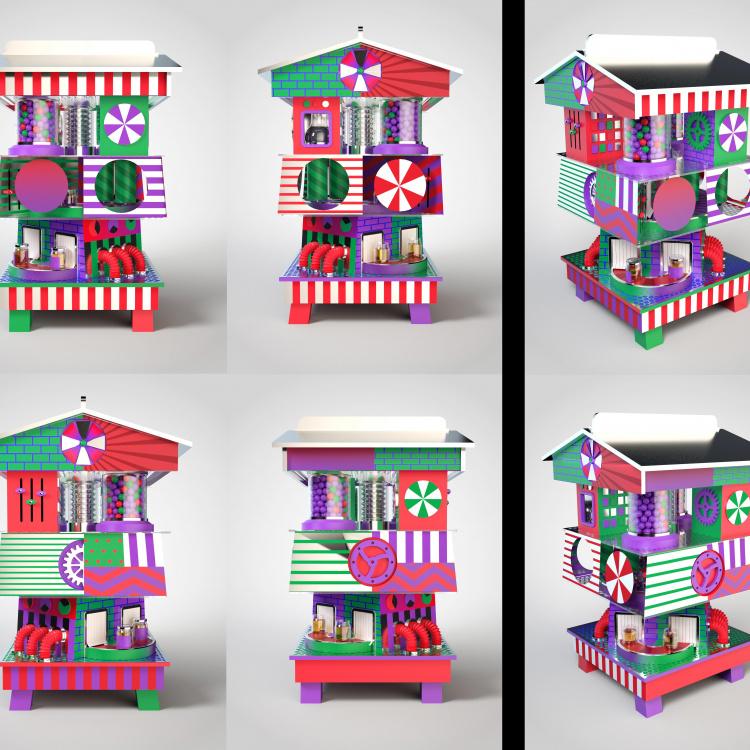 Thomas Burden 3D render