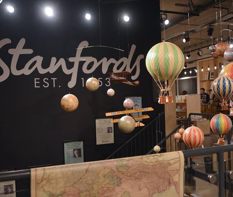 stanfords travel book shop