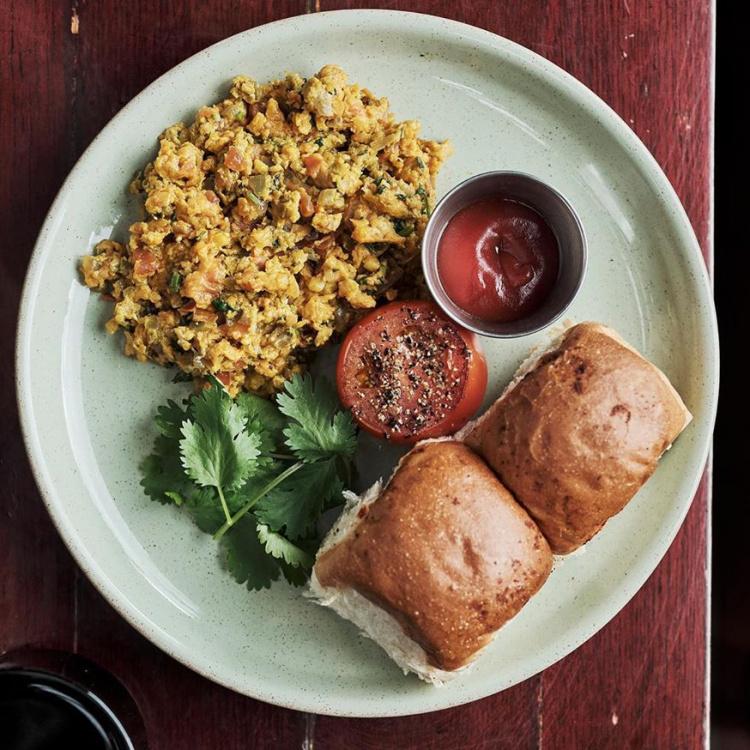 Dishoom vegan brunch