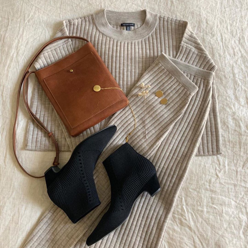eileen fisher outfit london