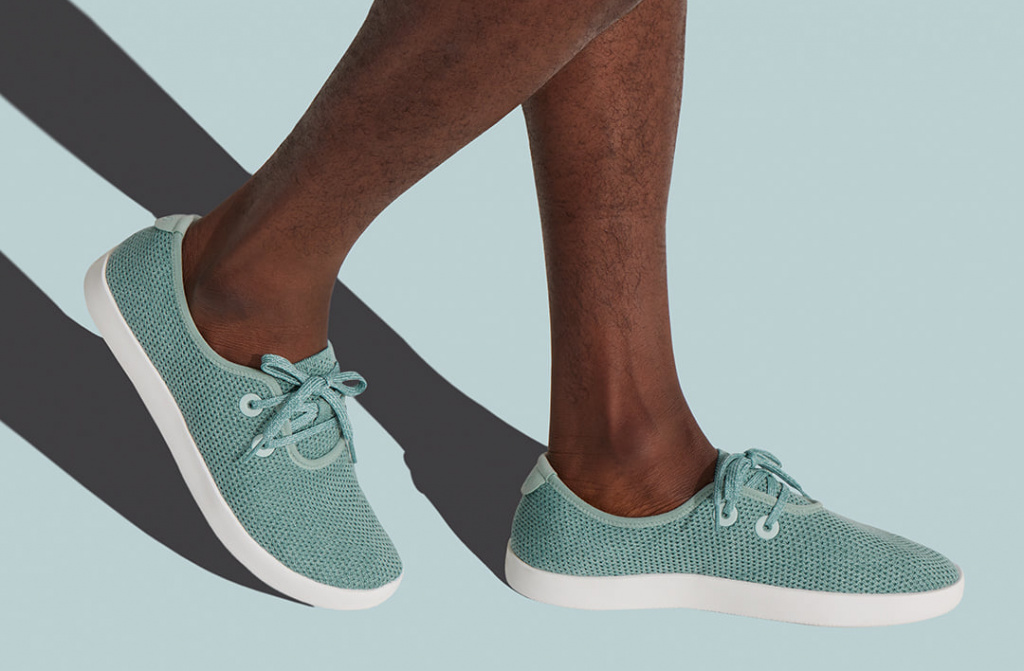 Allbirds tree skippers in Lichen spring style