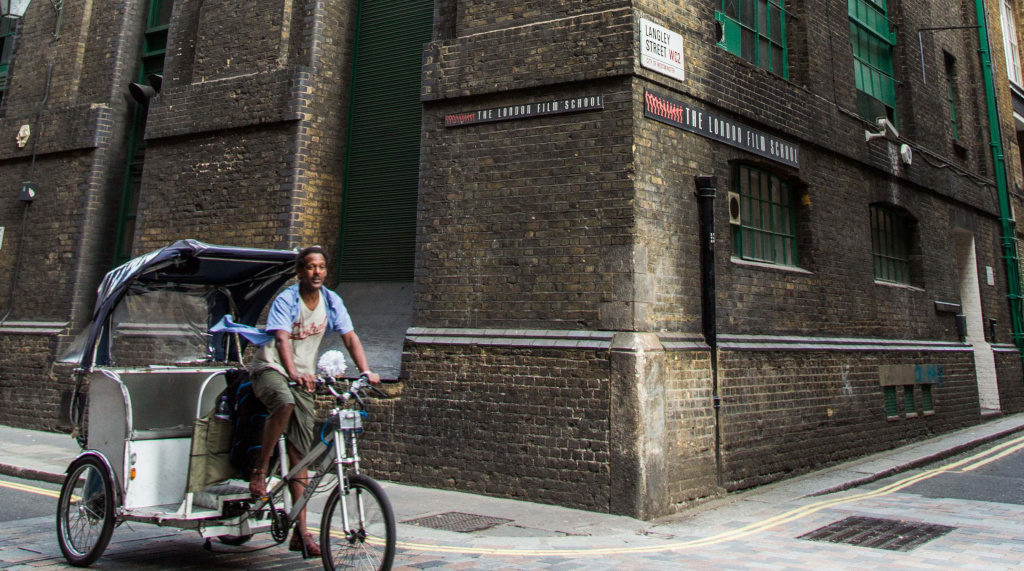 Exterior of London Film School